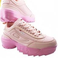Fila distruptor rare pink woman shoes