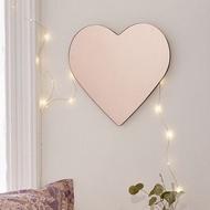 Mirror Hearts Mirror 124; Acrylic Mirror Wall Sticker Wall Sticker Hayu 124; Decoration Mirror Wall Decoration Aesthetic