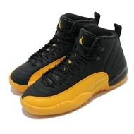 Nike 籃球鞋 Air Jordan 12 Retro 女鞋 經典 AJ12 復刻 明星款 穿搭 大童 黑 黃 153265070 153265-070