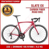 [Preorder] ★ 𝗧𝗛𝗘 𝗟𝗜𝗚𝗛𝗧𝗘𝗦𝗧 ★ VOLCK Carbon Fiber Road Bicycle/Shimano 105 R7000/Shimano Sora R3000/SAVA [EST: 31 May 2021]