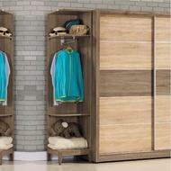 【AS】艾妮可1.5尺轉角置物衣櫃-45.1x45.1x197cm