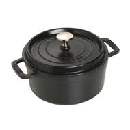 法國 Staub 18公分 圓鍋 鑄鐵鍋 黑/芥末黃/石墨灰/櫻桃紅