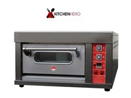 1 Deck Gas Oven Commercial (6 months warranty)
