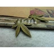 楓葉吊飾  DIY 配件 古銅色 楓葉吊飾 DIY 配件 古銅色