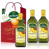 Olitalia 奧利塔葵花油禮盒組 1組送葵花油單罐x1