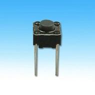 輕觸開關 6mm x 6mm x 高度5mm 2支腳 (5145) 遙控器開關 機板開關 按鈕開關