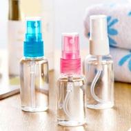現貨◎透明噴霧分裝隨身瓶 美容美妝 攜帶式化妝水酒精分裝瓶 按壓式噴霧