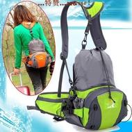 腰包男士戶外多功能包女運動登山騎行背包單肩大容量雙肩包腰包。25209