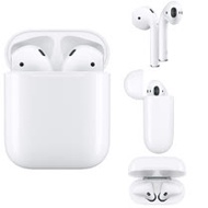 Apple原廠AirPods-搭配無線充電盒_MRXJ2TA/A (2019年 2代)