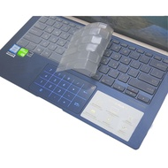 Ezstick ASUS UX433 UX433FN 奈米銀抗菌TPU 鍵盤保護膜 鍵盤膜 蝦皮24h 現貨