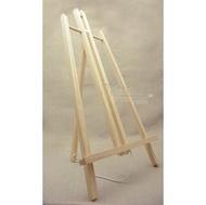 【松林網路商店】桌上型 小畫架 三腳型 (棉繩)款 大尺寸 展示 擺攤