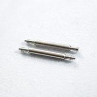 精純 不鏽鋼 無混和金屬 錶耳 生耳 彈簧棒 各種規格 6mm - 40mm