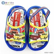 【童鞋城堡】賽車戶外拖 Tomica多美汽車(TM1822-藍)