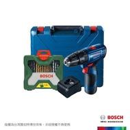【BOSCH 博世】12V鋰電震動電鑽/起子機鍍鈦配件套裝組 GSB 12V-30 TiN