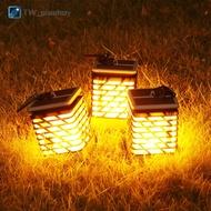 太陽能火焰火把燈太陽能燈火炬火苗燈led防水庭院草坪燈