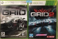 XBOX360正版游戲光碟 GRID超級房車賽1超級房車賽2 英文港版歐版