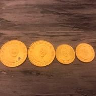 民國65年發行 總統蔣公九秩誕辰紀念金幣 小 0.5盎司