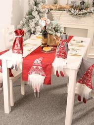 1入組聖誕節裝飾桌旗