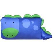 【淘氣寶寶】Milo& & Gabby 動物好朋友-mini枕頭套(DYLAN恐龍)+超柔軟mini防蟎天絲枕心【100%純棉透氣舒適】