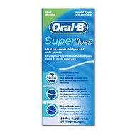 Oral-B 歐樂B Super floss 三合一牙線 超級牙線 (牙橋 矯正 專用50入)