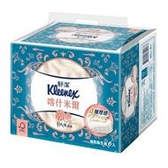 舒潔喀什米爾四層抽取式衛生紙90抽X6包【康是美】