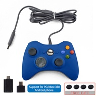 DATA FROG Wired USB Gamepad For Xbox 360/Slim Controller For PC Vibration Controller For Windows 7/8/10 Support for Steam Game