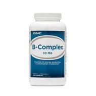 貓兒美國免稅代購??美國GNC正品B族復合維生素50mg250粒B-complex