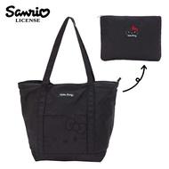 【日本正版】凱蒂貓 摺疊 肩背包 手提袋 購物袋 Hello Kitty 三麗鷗 Sanrio - 642825