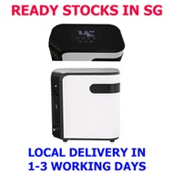 (READY LOCAL SG STOCKS) 1L to 7L FLOW 30% to 90% Purity adjustable - Portable Oxygen Concentrator