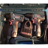 [SuitOn] Bosch 12V 雙機組 GDR120Li + GSR120Li 衝擊起子機 電鑽 GDR GSR