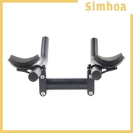 [SIMHOA] Bicycle Aero Bar Triathlon Bike Tri Bars Arm Relaxation Arm Rest Handlebars