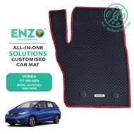 ENZO Car Mat - Honda Fit 3rd Gen Model GK Petrol (2014-2020)