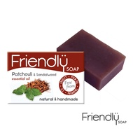 【英國富樂皂FRIENDLY SOAP】廣藿&檀香舒心精油手工皂