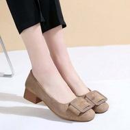 ✨รองเท้าคัชชู รองเท้าส้นเตี้ย รองเท้าส้นแบน รองเท้าผู้หญิง รองเท้าทำงาน รองเท้าบัลเล่ต์ ✨