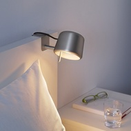 【IKEA】 VARV LED 銀色夾燈 美術道具