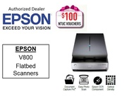 Epson Flatbed Scanner Perfection V800 Photo Color Scanner ** Free $100 NTUC Voucher Till 5th Jan 2019 ** V 800