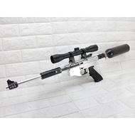 < WLder > FS M9 全金屬 貝瑞塔 操作槍 連發版 銀(玩具槍模型槍道具槍假槍拍片子彈拋殼跳殼模擬槍火藥槍仿真槍M92 M9A1