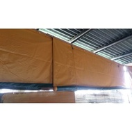 6ft X 10ft LONA (MARUYAMA) / TRAPAL / TOLDA / HIGH QUALITY / TARPAULIN / CANVAS / WITH PULLEY SET