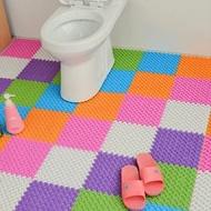 12入裝-腳丫浴室防滑地墊拼接踏墊 多色可選