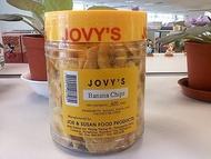 菲律濱長灘島必買jovy's crispy banana chips 香蕉片/香蕉脆片x 4罐(黑貓宅配)
