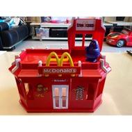 【玩具收藏】二手 玩具 麥當勞 組合 餐廳 McDonald's 奶昔大哥 扮家家 家家酒 麥當勞叔叔