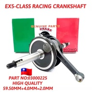 EX5 CLASS HONDA SHARK RACING CRANKSHAFT 59.5MM+4MM=2MM