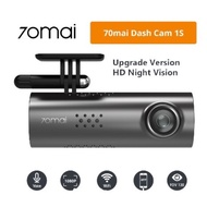💖Xiaomi 70 Mai💖Car Camera Car Dvr Dash camera 1S App English And Voice Control 1S 1080P Hd Night Vision 70