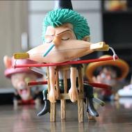 「毬毬的窩」港版 海賊/航海王模型 翻模gk 犯二  魯夫 索隆 香吉士 愛睏 睡覺 公仔