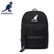 KANGOL 英國袋鼠 後背包 6055320420 黑色