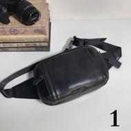 正品現貨 COACH蔻馳正品 F37594 真皮 胸包雙拉鏈包 斜挎包 單肩包 腰包
