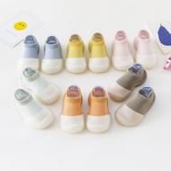 【現貨】特惠 寶寶學步鞋  膠底防滑無毒透氣幼兒襪型學步鞋 兒童學步襪全棉兒童淺口地板襪 寶寶學步鞋襪子室內鞋