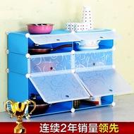 Korean style simple dining cabinets minimalist IKEA Kitchen Cabinet multifunctional wardrobe combina