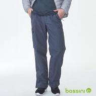 bossini男裝-多功能防風雪褲鐵-灰(網路款)