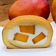 芒果生乳捲  蛋糕捲 瑞士捲 生乳捲 重量級 590克/入